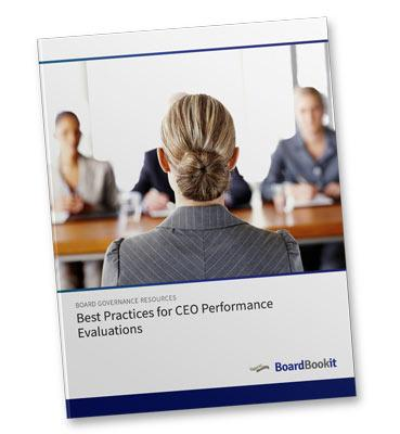 Best Practices for CEO Performance Evaluations Whitepapers