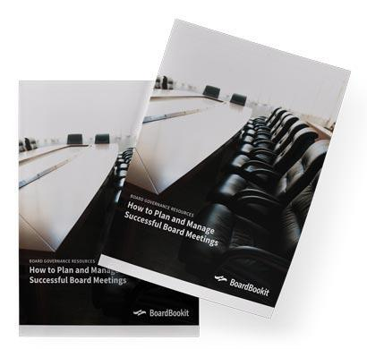 Plan and Manage Successful Board Meetings Whitepaper