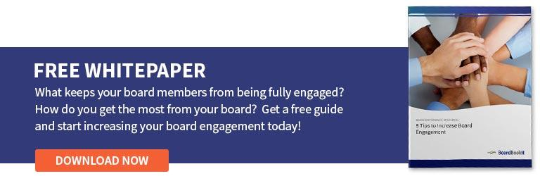 Board Engagement Tips | Free Whitepaper Download
