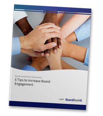5 Tips to Increase Board Engagement Whitepaper