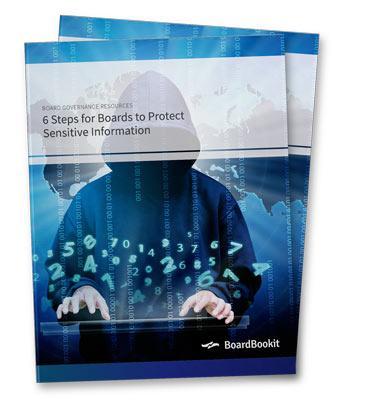 6 Steps to Protect Sensitive Board Information Whitepaper