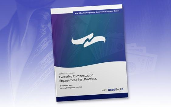 Executive Compensation Engagement Best Practices vcard