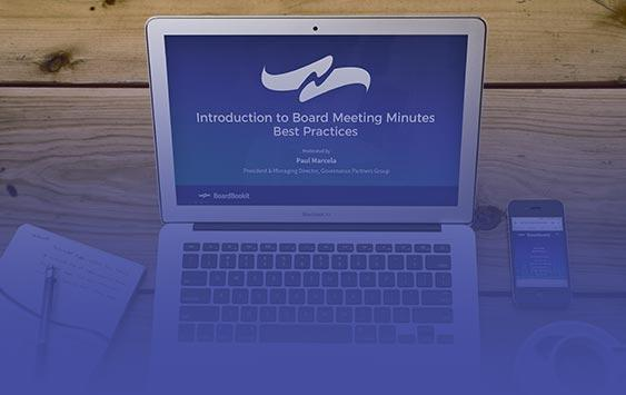 Introduction to Board Meeting Minutes Best Practices | BoardBookit vcard