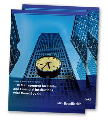 Board Portals for Banks & Financial Institutions Whitepaper | BoardBookit