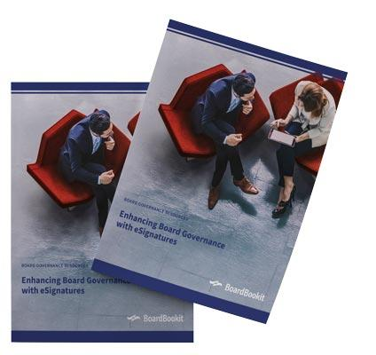 Enhancing Board Governance with eSignature Software Whitepaper
