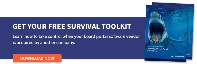 Board Portal Acquisition Survival Toolkit Download