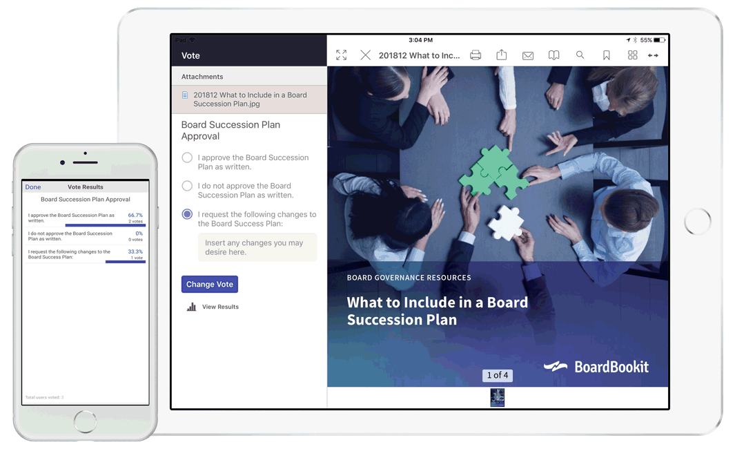 Board of Directors Voting Software | BoardBookit
