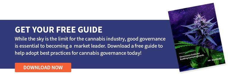 Going Green: Growing Cannabis Corporate Governance From the Ground Up Download