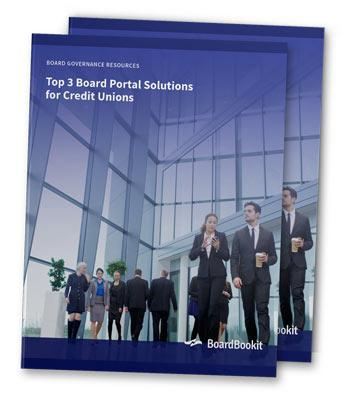 Top 3 Credit Union Board Portal Solutions