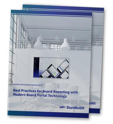 Board Reporting Best Practices with Modern Board Portal Technology